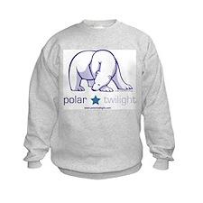 White PolarTwilight logo Sweatshirt