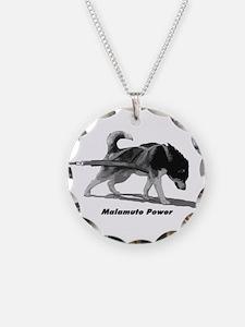 Malamute Power Necklace