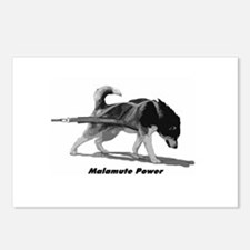 Malamute Power Postcards (Package of 8)