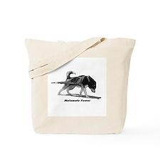 Malamute Power Tote Bag
