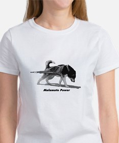 Malamute Power Women's T-Shirt