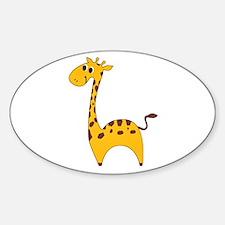 Cute Giraffe Decal