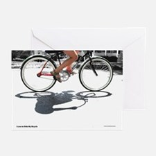I Love to Ride My Bicycle (6 Greeting Cards)