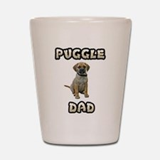 Puggle Dad Shot Glass