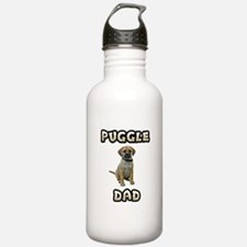 Puggle Dad Water Bottle