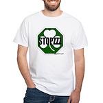 Stopzzz White T-Shirt