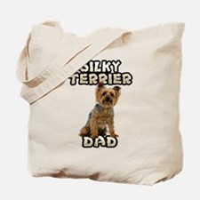 Silky Terrier Dad Tote Bag