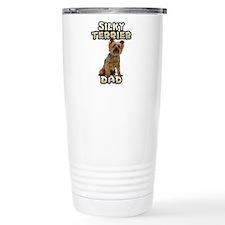 Silky Terrier Dad Travel Mug