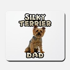 Silky Terrier Dad Mousepad