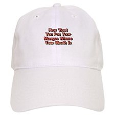 How Bout You Put Your Mangos Baseball Cap