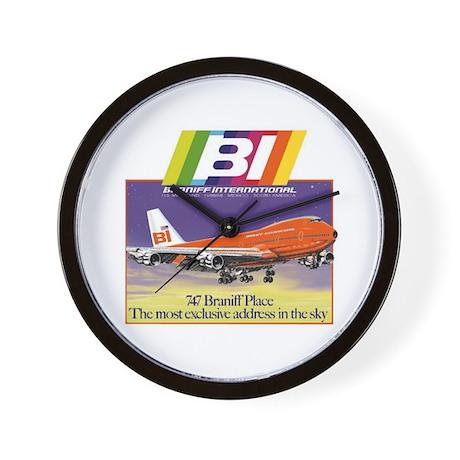 Braniff International Wall Clock