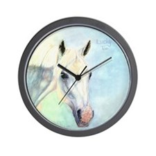 Lucky Too Wall Clock