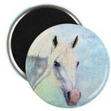 """Lucky Too 2.25"""" Magnet (10 pack)"""