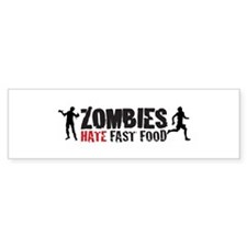 zombies Bumper Stickers