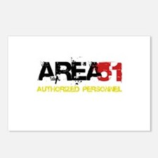 Area 51 Postcards (Package of 8)
