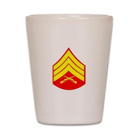 U.S.M.C. Shot Glass