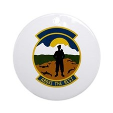 343d Security Police Ornament (Round)