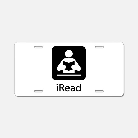 iRead Aluminum License Plate