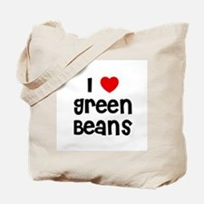 I * Green Beans Tote Bag
