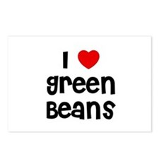 I * Green Beans Postcards (Package of 8)