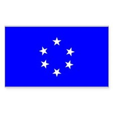 Trust Territory Flag Rectangle Decal
