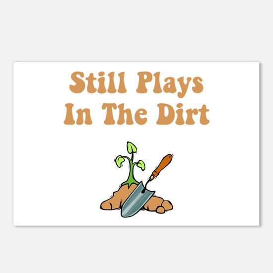 Still Plays In The Dirt Postcards (Package of 8)