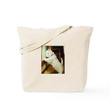 WAITING - West Highland White Tote Bag