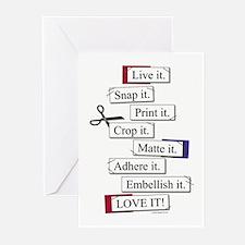 SCRAP it! Greeting Cards (Pk of 10)