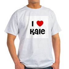 I * Kale Ash Grey T-Shirt
