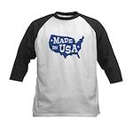 Made in USA Kids Baseball Jersey