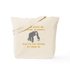 Crap Fling Tote Bag