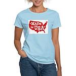 Made in USA Women's Pink T-Shirt