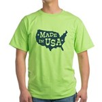 Made in USA Green T-Shirt