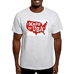 Made in USA Ash Grey T-Shirt