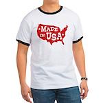 Made in USA Ringer T