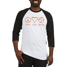 Peace, Love, Giants Baseball Jersey
