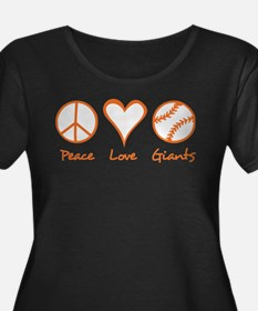 Peace, Love, Giants T