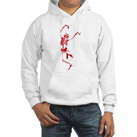 The Dancing Skeleton Hooded Sweatshirt