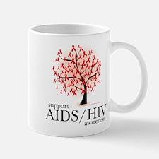 AIDS/HIV Tree Mug