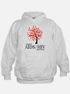 AIDS/HIV Tree Hoodie