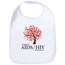 AIDS/HIV Tree Bib