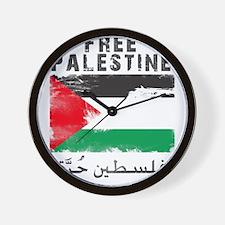 www.palestine-shirts.com Wall Clock