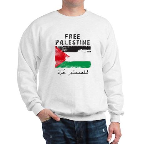 Free Palestine ( filistin hur Sweatshirt