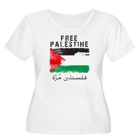 www.palestine Women's Plus Size Scoop Neck T-Shirt