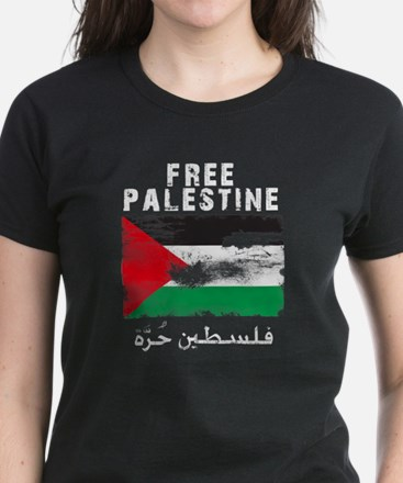 www.palestine-shirts.com Women's Dark T-Shirt