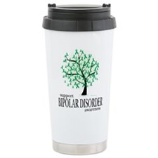 Bipolar Disorder Tree Travel Mug
