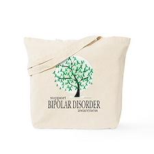 Bipolar Disorder Tree Tote Bag