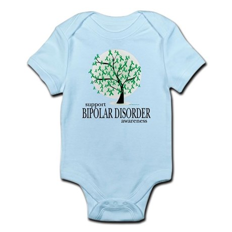 Bipolar Disorder Tree Infant Bodysuit