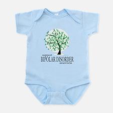 Bipolar Disorder Tree Infant Bodysuit
