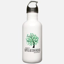 Bipolar Disorder Tree Water Bottle